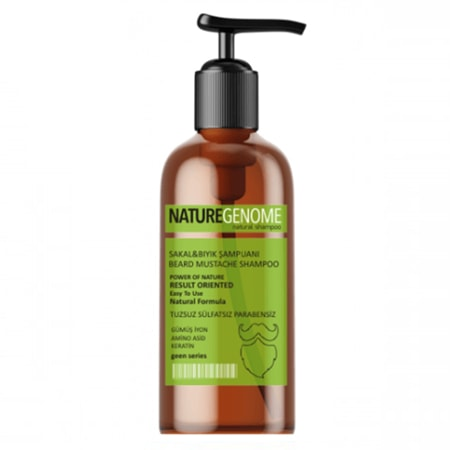 NatureGenome Sakal & Bıyık Şampuanı